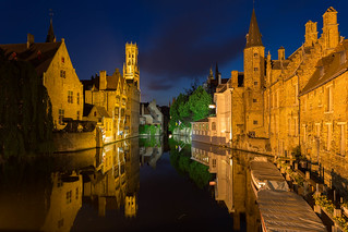 Bruges reflected | by jiuguangw