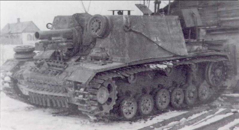 SIG 33 auf Fgst. PzKpw III