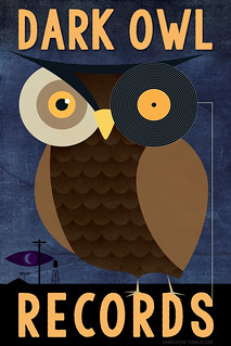 Faux logo for Dark Owl Records | by DameCatoe