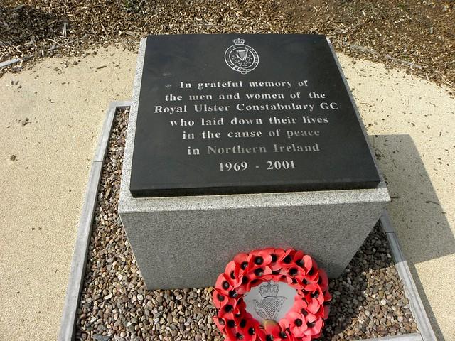 The RUC Memorial at the National Memorial Arboretum
