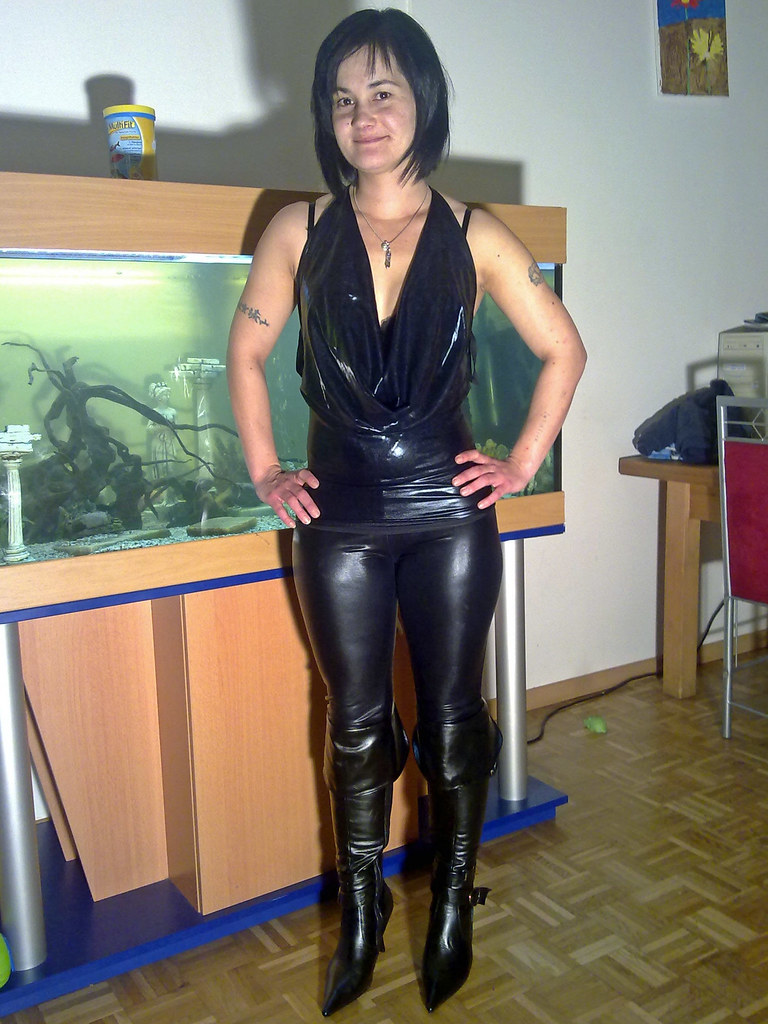 leggings schwarz fick