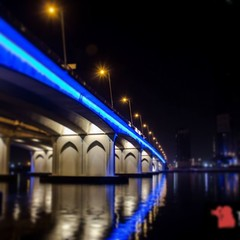 Business bay crossing bridge #businessbay #bridges #UAE #lights #Night