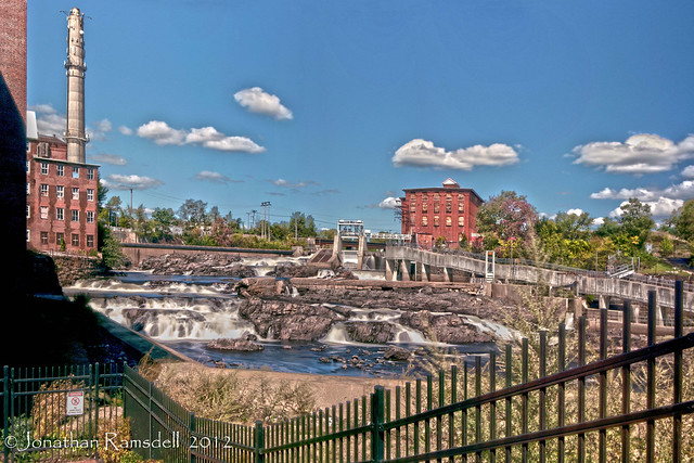 factory island cataracts hdr pano-