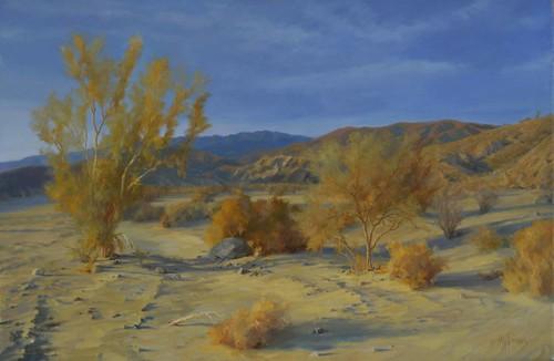 Smoke Trees in Coachwhip Canyon
