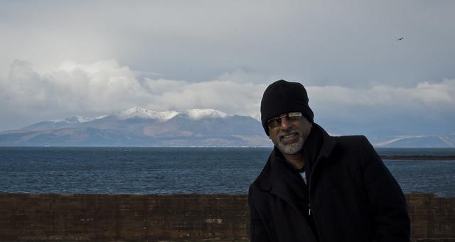 The Peaks of Arran (background)