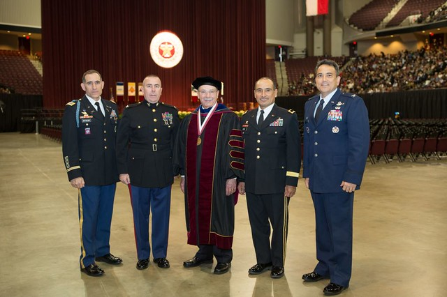 Texas A&M Commissioning New Officers