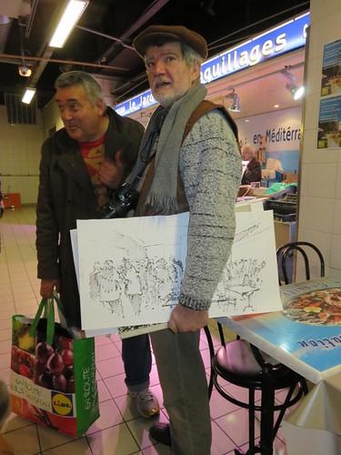 46e sketchcrawl 2015 01 31  023 (Copier) | by Marie France B