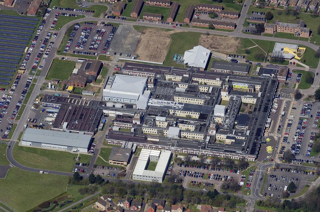 James Paget University Hospitals - Overhead Great Yarmouth