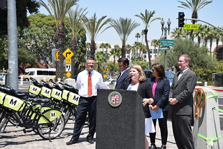Ceremony Photo | by LADOT Bike Blog