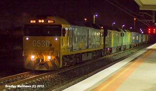 G530 (PN)-DL48 (AN)-DL43 (AN) on 7MC2 to Junee/Griffith at Somerton Loop (18/5/2013). | by Bradley Matthews Photography