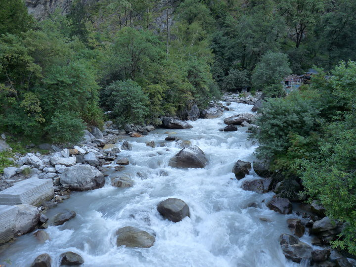 Badrinath River photo