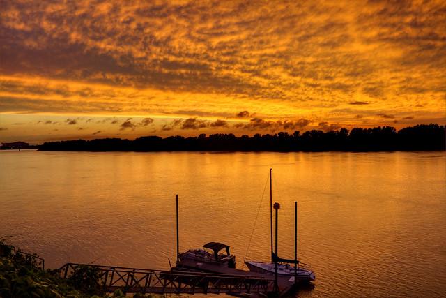 Sailboats 2, Ohio River, Owensboro, KY