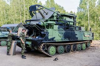 2K12 Kub air defense system - 1S91 SURN