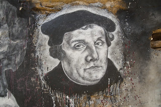 Martin Luther, painted portrait DDC_8741   by Abode of Chaos