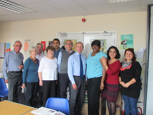 Mike Freer MP visiting Barnet Refugee Service | by Mike Freer MP