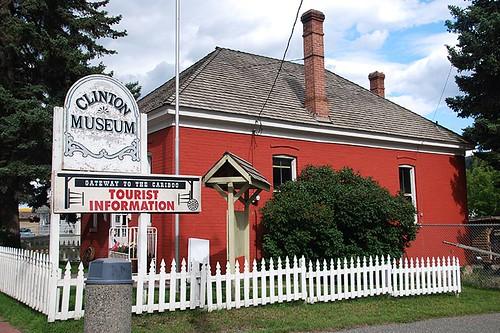 Clinton Museum, Clinton, Highway 97, Cariboo, British Columbia, Canada