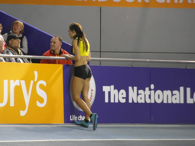 Katarina Johnson-Thompson, High Jump - British Athletics Indoor Championships 2014