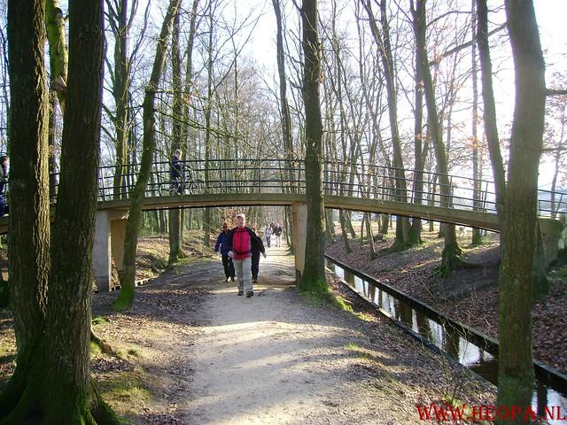 W.S.V.de Trekvogels 09-02-2008 15 Km  Apeldoorn (6)