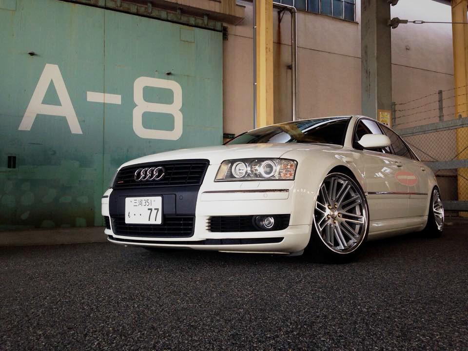 Audi A8 On Concept One Executive Cs 20 Audi A8 Slammed On Flickr