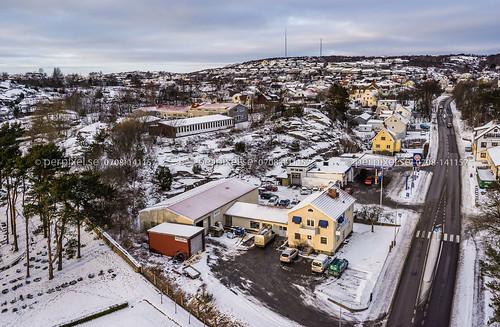 flygfoto dalslånged stenebyskolan skola vinter