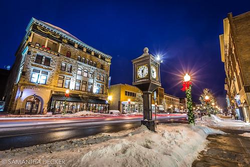 Glens Falls at Night | by Samantha Decker