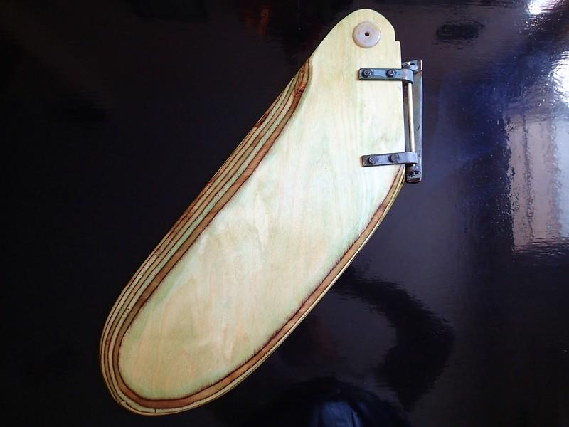 Sunfish rudder.