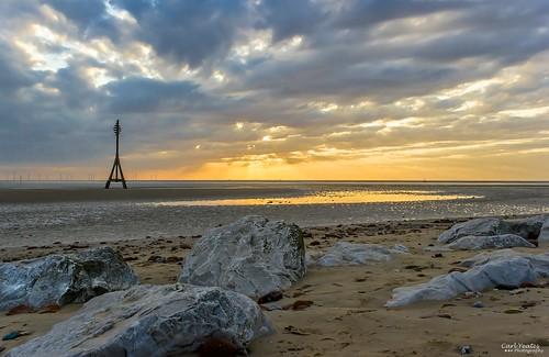sunset sun beach sand