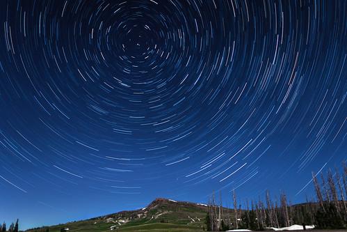 trees sky mountain snow night stars star utah hill trails astro trail astrophotography cedarbreaksnationalmonument astrometrydotnet:status=failed triggertrap astrometrydotnet:id=nova1620243