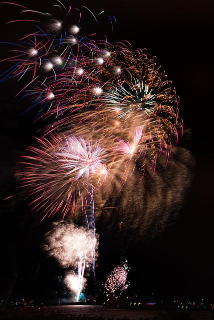 Chicago Saturday Night Fireworks