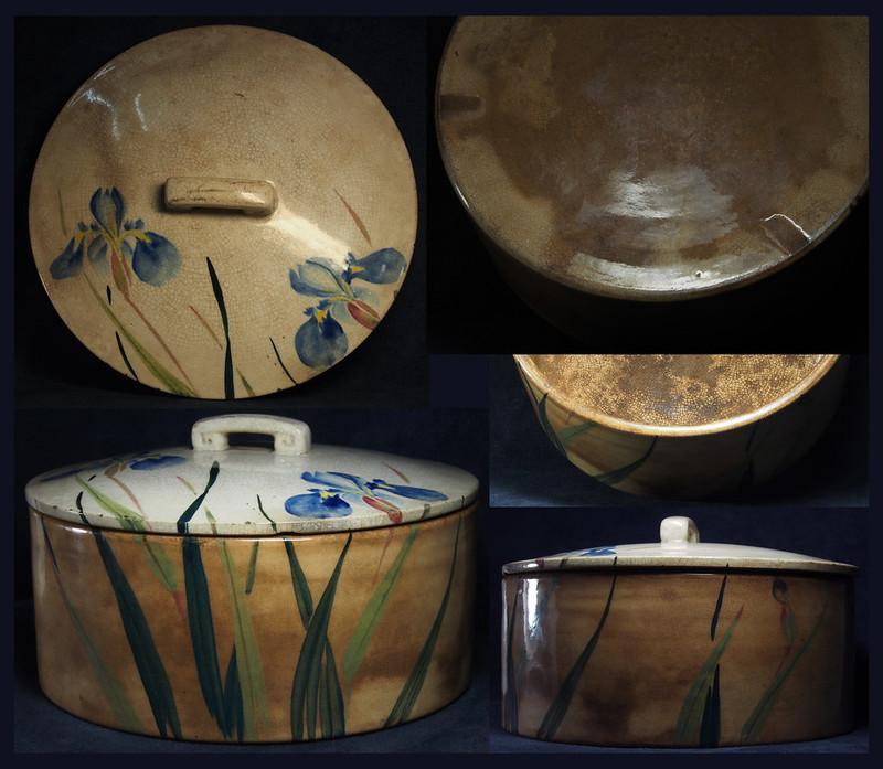 日本 明治時期 釉下彩繪 20世紀初--洪以南舊藏