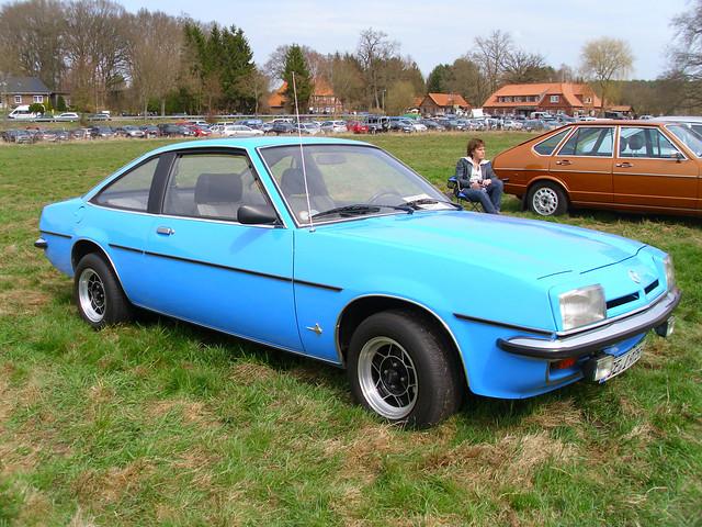 Opel Manta B S Luxus 1976