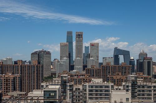 Guomao Skyline, Beijing | by pamhule