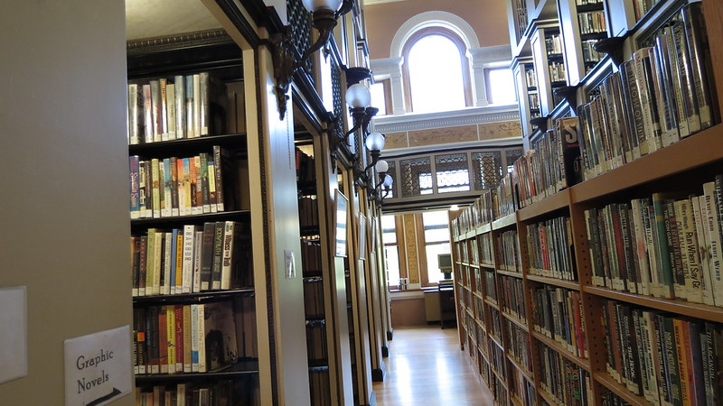 the Millicent Library in Fairhaven MA