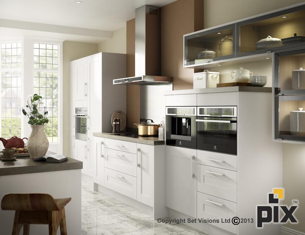 CGI Kitchen Interiors