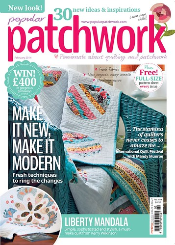 Popular Patchwork Cover | by Lindsay Sews {@CraftBuds}