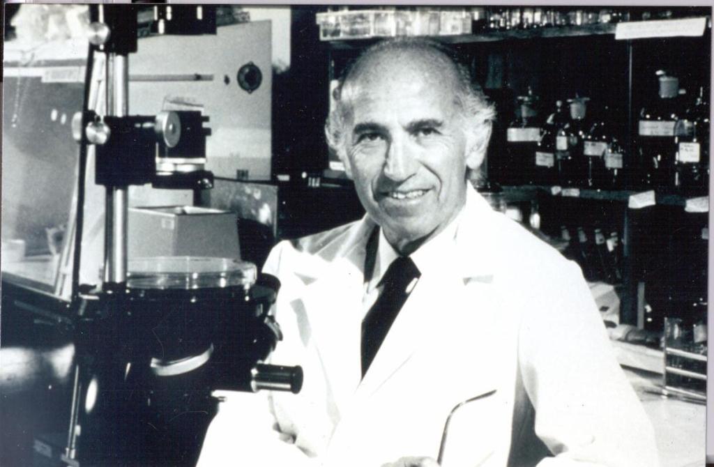 Jonas Salk - Polio | Jonas Salk during his professional care