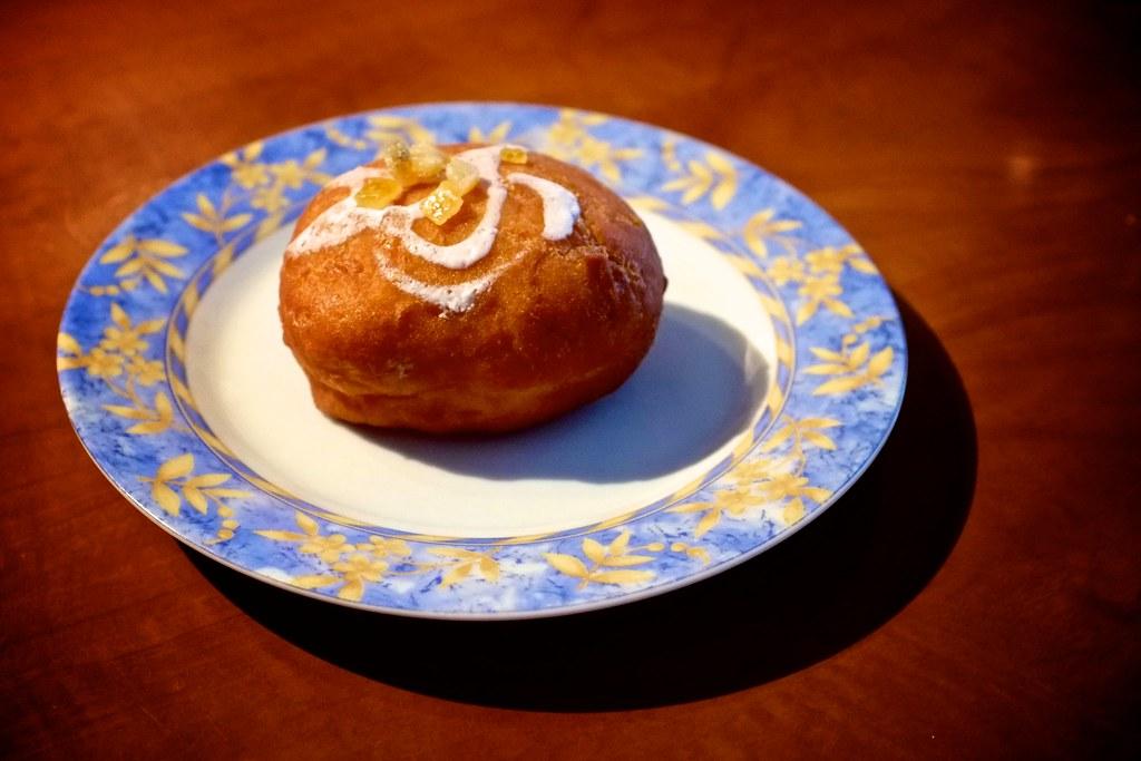 58/365: Fat Thursday doughnut
