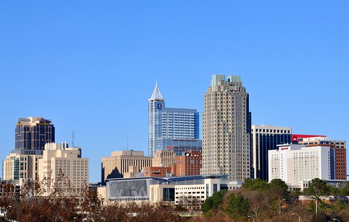Raleigh skyline | by James Willamor