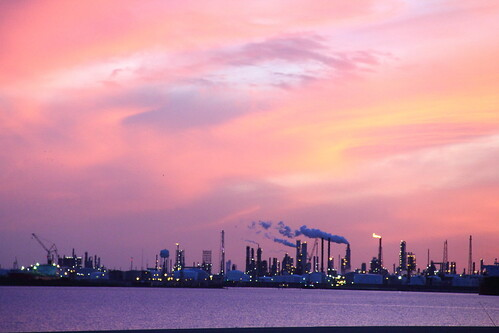 sunset sky orange usa industry water weather skyline clouds outdoors eos evening bay texas dusk smoke tide digitalart shoreline orangesky texascity dpp galvestonbay refineries texasgulfcoast scenicview industrialcomplex galvestoncounty coastalphotos eos60d cr2raw
