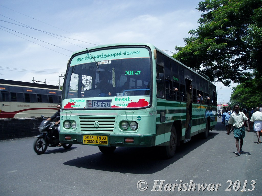TN 33 N 2800 | Erode / Bhavani Coimbatore - Salem
