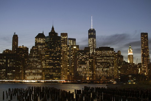 Lower Manhattan over old piers | by RealMattKane