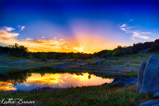 Beek's Bight Sunset, Folsom Lake, Granite Bay CA | by lbrewer