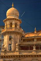 Minaret of Saifee Masjid, Bhindi Bazaar, Mumbai, India - Filename: XR6A0904-Edit - 1/800 sec at f/13 ISO 500