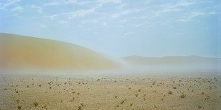 Dunes And Mist Waterfall | by Doha Sam