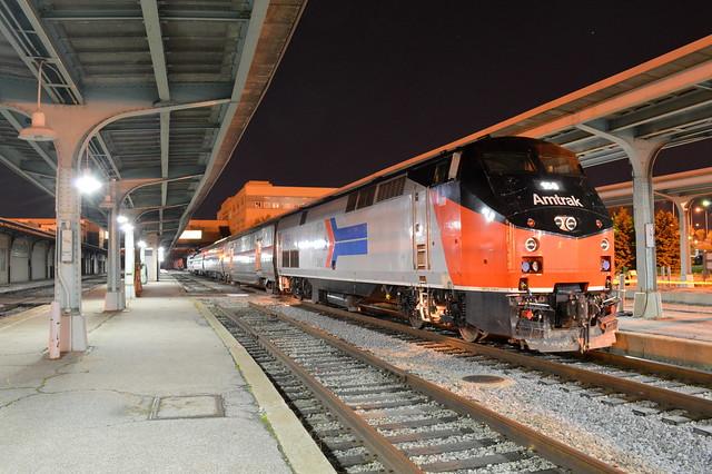 Down at the depot