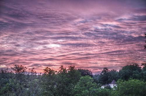 sunset sky sunlight clouds ciel nuages hdr coucherdesoleil skyview pentaxk5