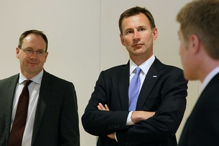 UK Secretary of State for Health Jeremy Hunt and Dr. Mark Davies visit the Center for Total Health 25425 | by tedeytan