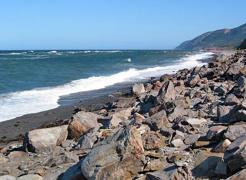 ocean road sea 2004 drive coast highlands waves novascotia scenic coastal capebreton oceanview cabottrail
