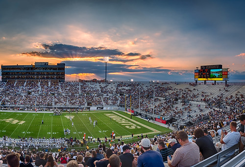 Football foreground:  UCF Knights defeat the Akron Zips 38 - 7 | by Ed Rosack