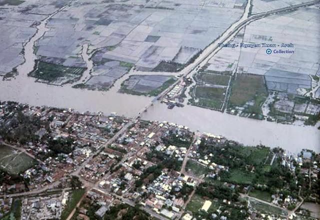 Gò Dầu Hạ Aerial Photo 1969